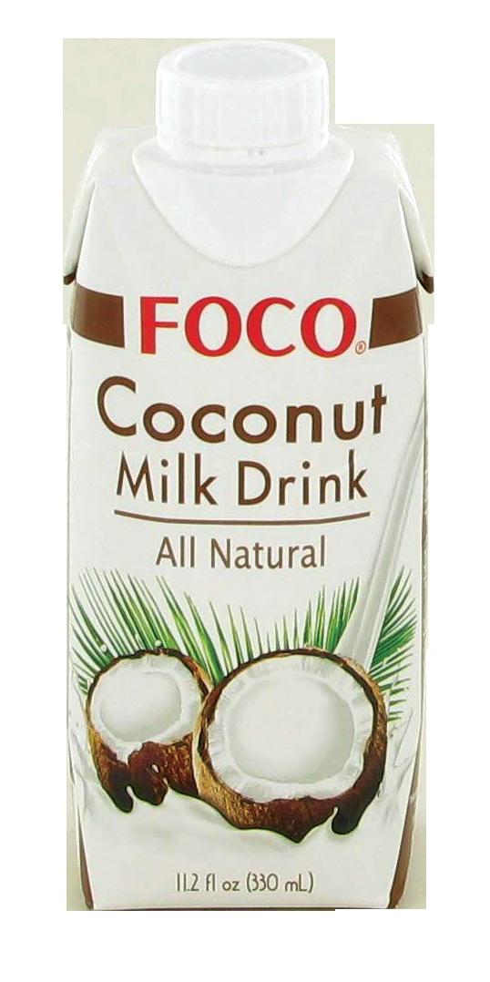Boisson au lait de noix de coco, Foco (33 cl)