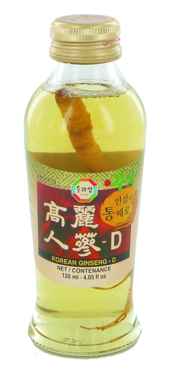Boisson au ginseng, Sura (120 ml)
