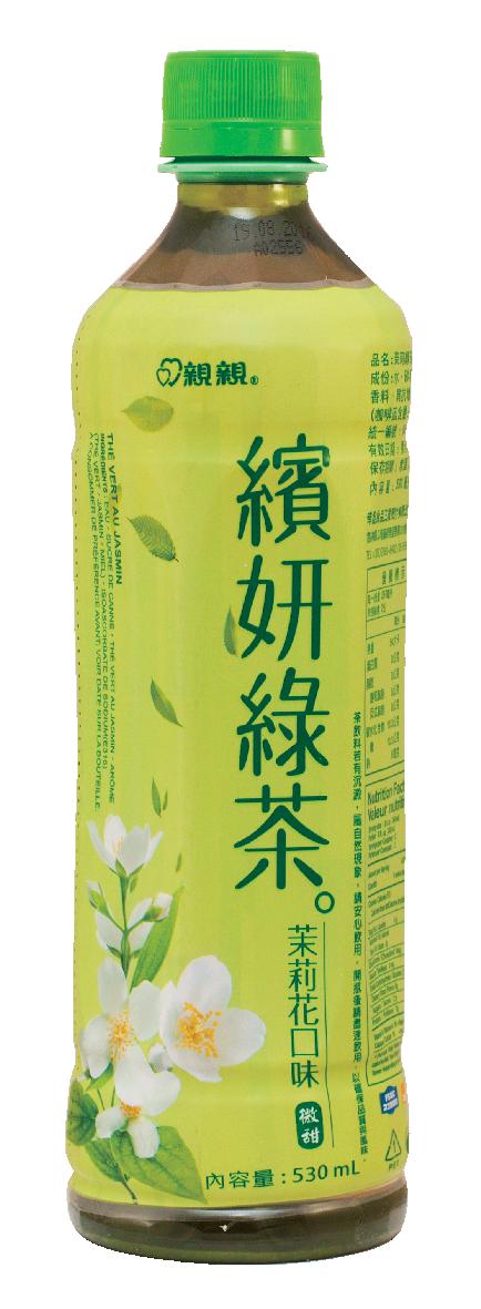 Boisson thé vert arôme jasmin, Chin Chin (530 ml)