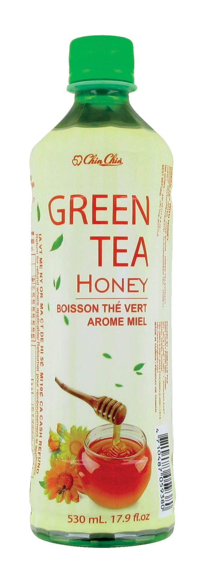 Boisson thé vert arôme miel, Chin Chin (530 ml)
