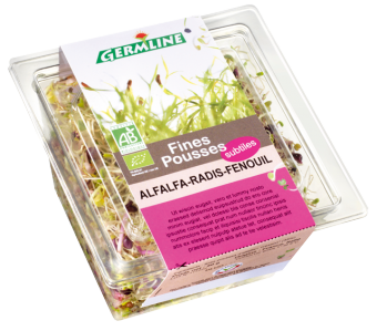 Alfalfa/radis/fenouil BIO, Germline (75 g)