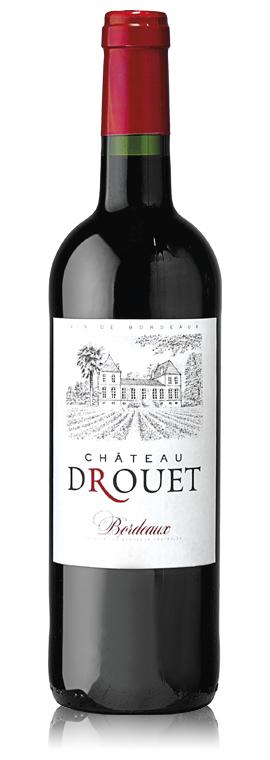 Bordeaux Château Drouet 2018 (médaille d'or G&G)