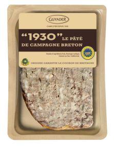 """1930"" Pâté de campagne Breton IGP, Guyader (160 g)"