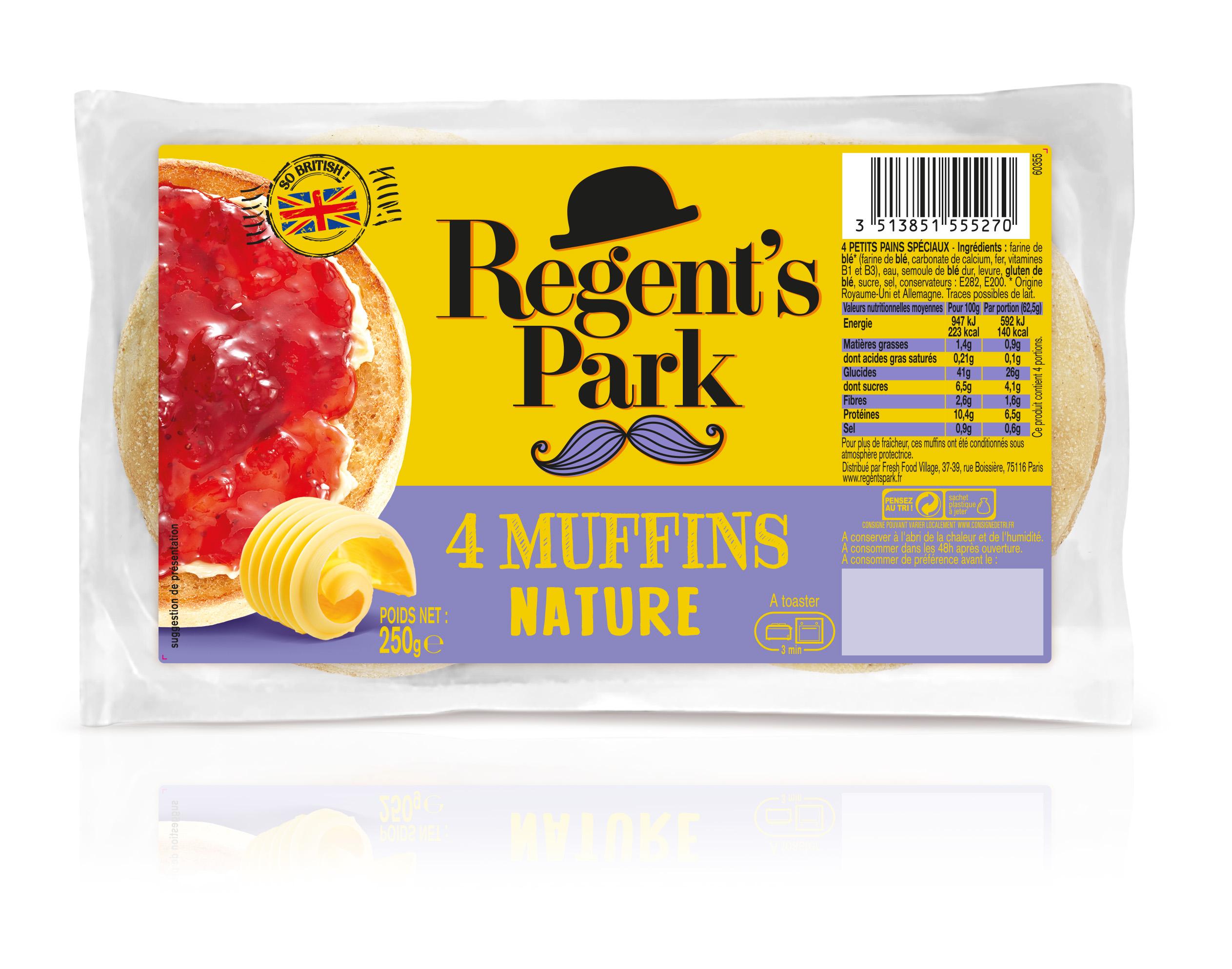 English Muffins nature, Regent's Park (250 g)