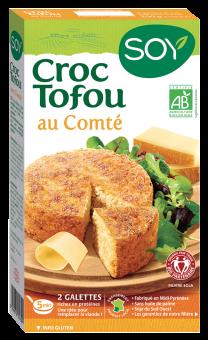 Croc tofou au comté BIO, Soy (200 g)