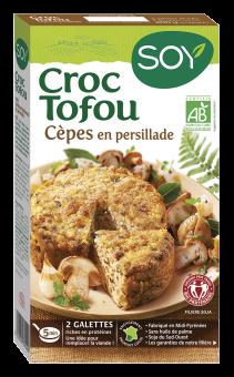Croc tofou aux cèpes en persillade BIO, Soy (200 g)