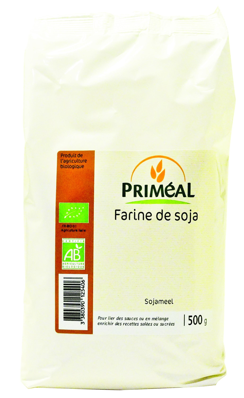 Farine de soja Bio Priméal (500 g)
