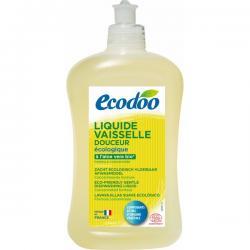 Liquide vaisselle douceur senteur Menthe, Ecodoo (500 ml)