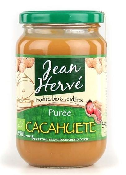 Purée de cacahuètes Bio Jean Hervé (350 g)