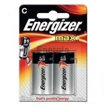 Piles alcaline LR14 Max, Energizer (x 2)