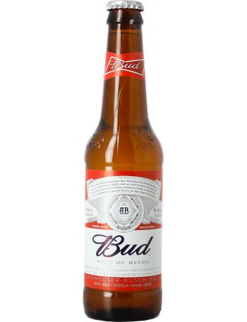 Bière 5%, Budweiser (33 cl)