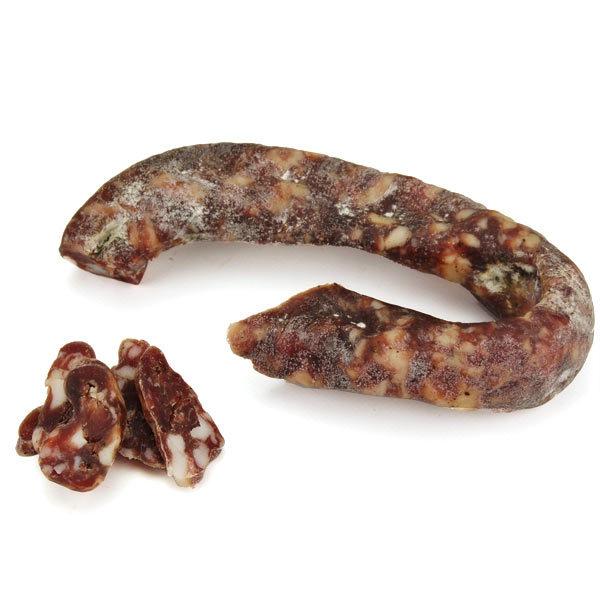 Saucisse sèche artisanale de l'Aveyron au roquefort (environ 200 g)