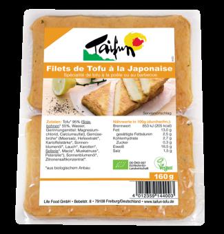 Filets de tofu à la Japonaise, Taifun (x 2, 160 g)