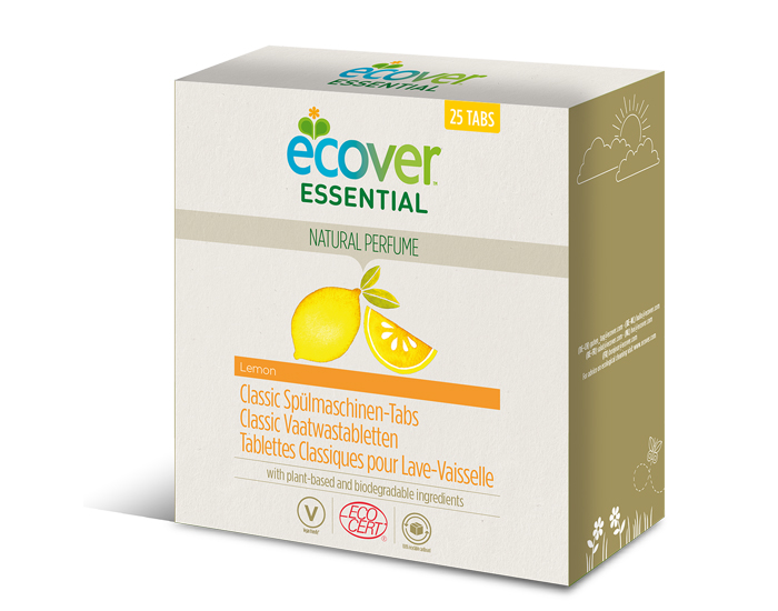 Tablettes lave-vaisselle, Ecover (x 25, 500 g)