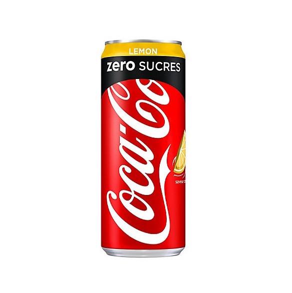 Coca-Cola Zéro lemon (33 cl)