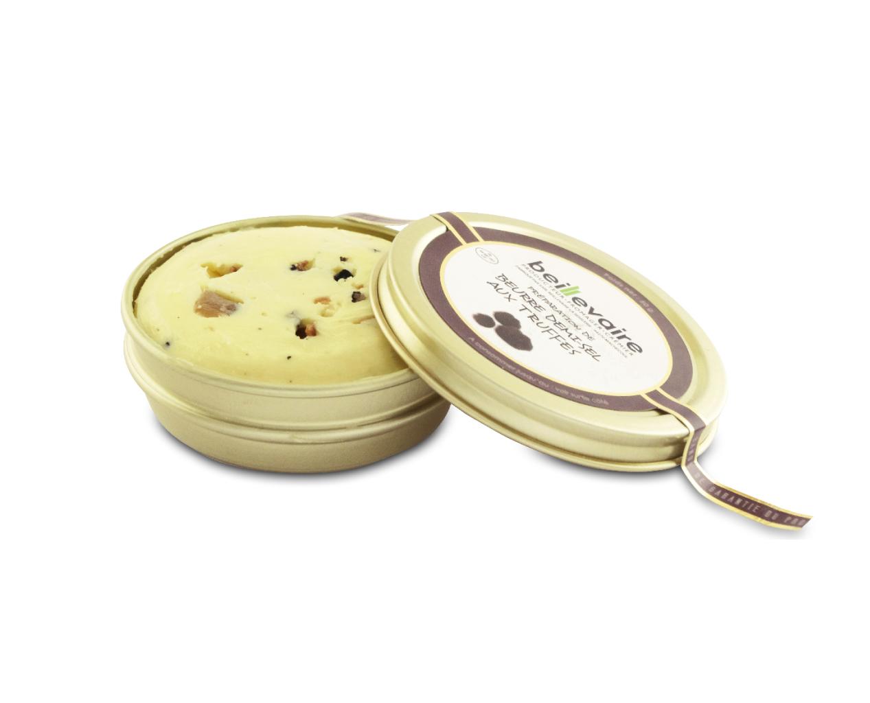 Beurre artisanal aux truffes, Beillevaire (50 g) - DLC au 22 juillet
