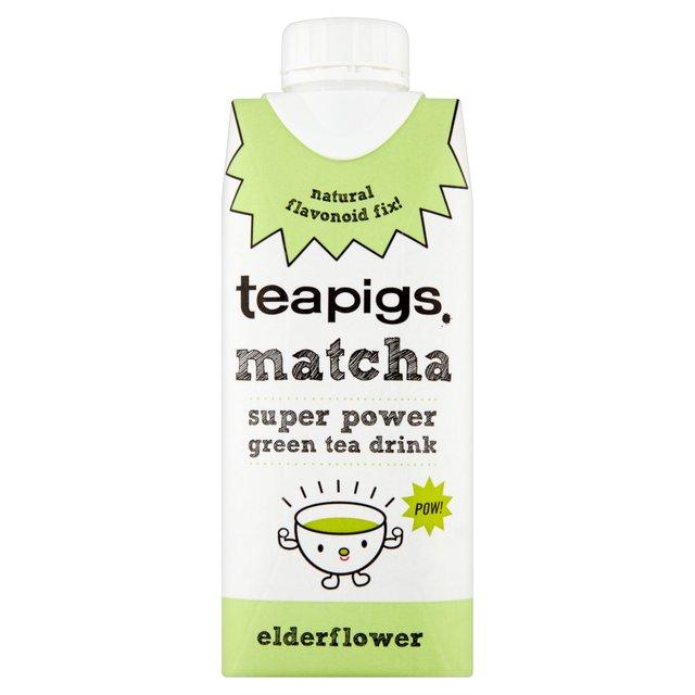 Boisson matcha et fleur de sureau BIO, Teapigs (330 ml)