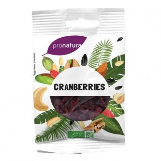 Cranberrie/canneberge séchée Canada BIO, Pronatura (1 kg)
