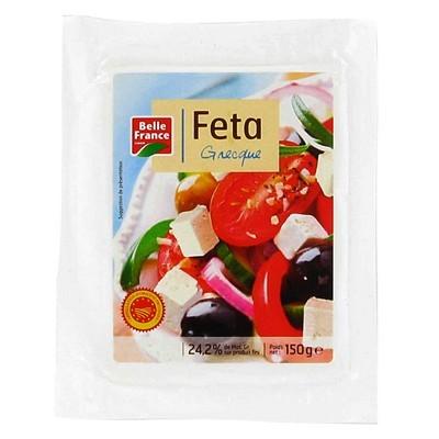Fêta Grecque au lait frais de brebis, Belle France (150 g)