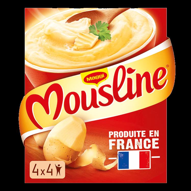 Purée Mousline Nature (520 g)