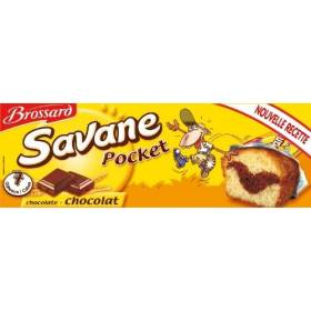 Mini Savane chocolat pocket, Brossard (7 x 27 g)