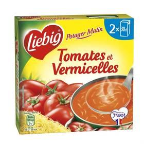 Soupe tomates et vermicelles Potager Malin, Liebig (2 x 30 cl)