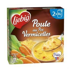 Soupe poule au pot vermicelles, Liebig (2 x 30 cl)