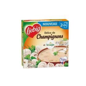 Soupe délice de champignons & Boursin, Liebig (2 x 30 cl)