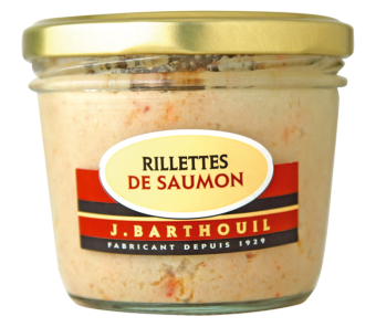 Rillettes de saumon BIO, Barthouil (190 g)