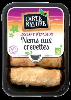 Nems aux crevettes BIO, Carte Nature (280 g)