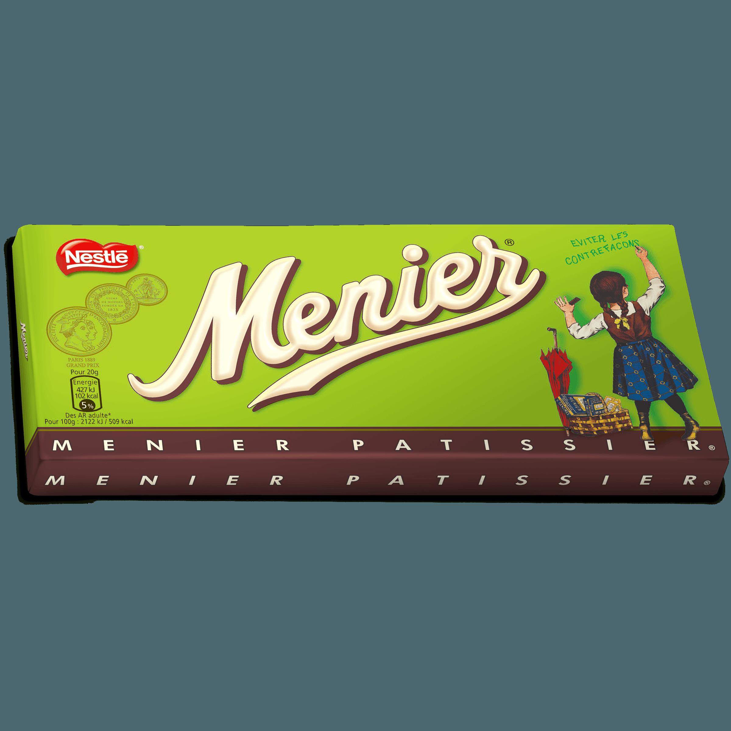 Chocolat pâtissier Menier, Nestlé (200 g)