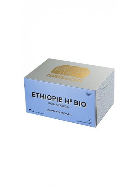 Café capsule H3 Ethiopie BIO, Terres de Café (x 10)