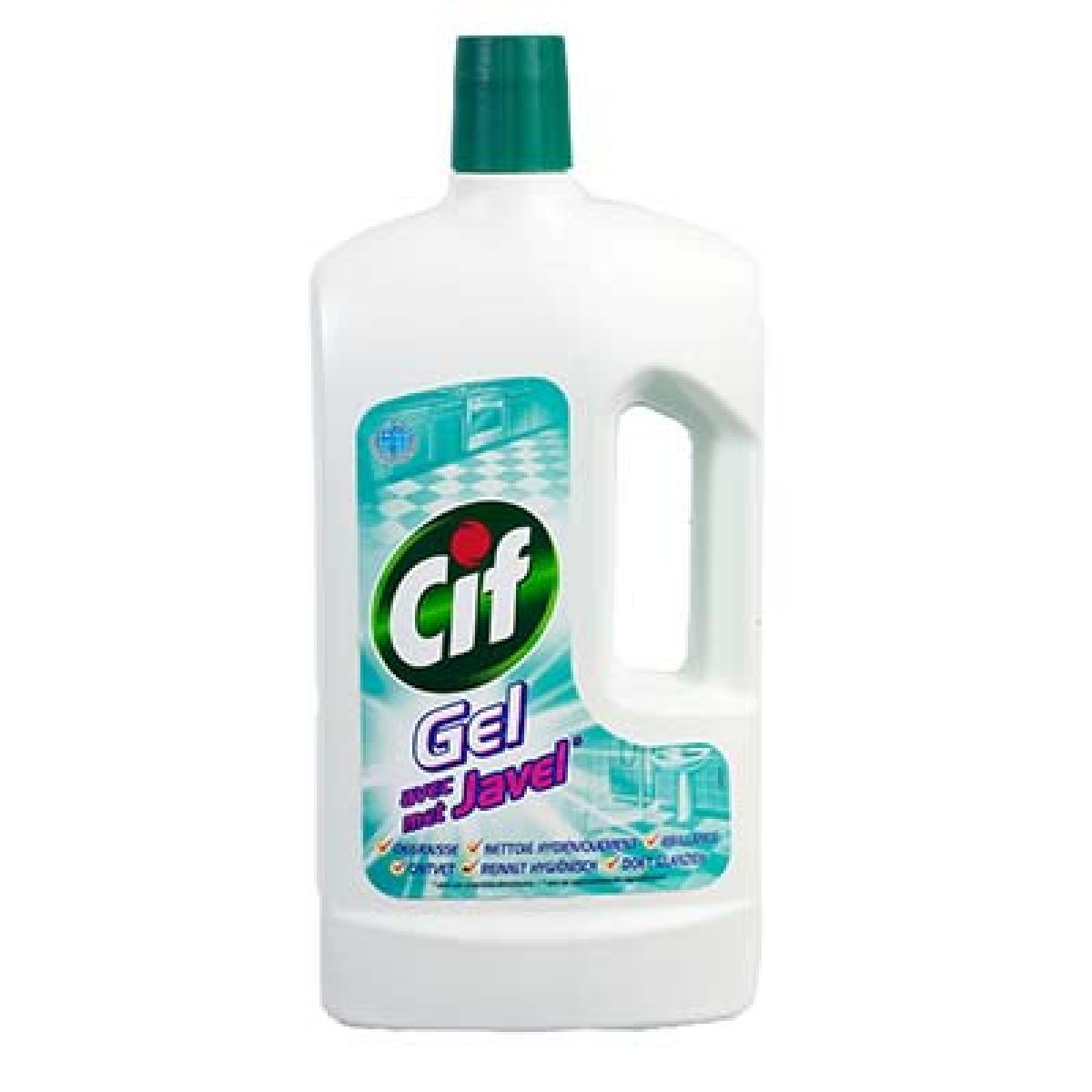 Nettoyant gel avec javel, Cif (1 L)