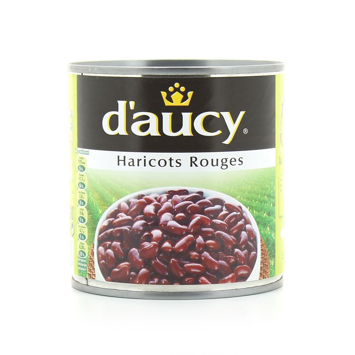 Haricots rouge, D'aucy (500 g)