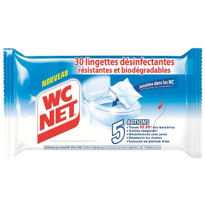 Lingettes WC net x 30