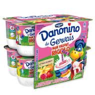 Danonino, Mon yaourt rigolo, Gervais (12 x 125 g)