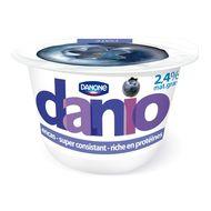 Yaourt Danio Myrtille, Danone (150 g)