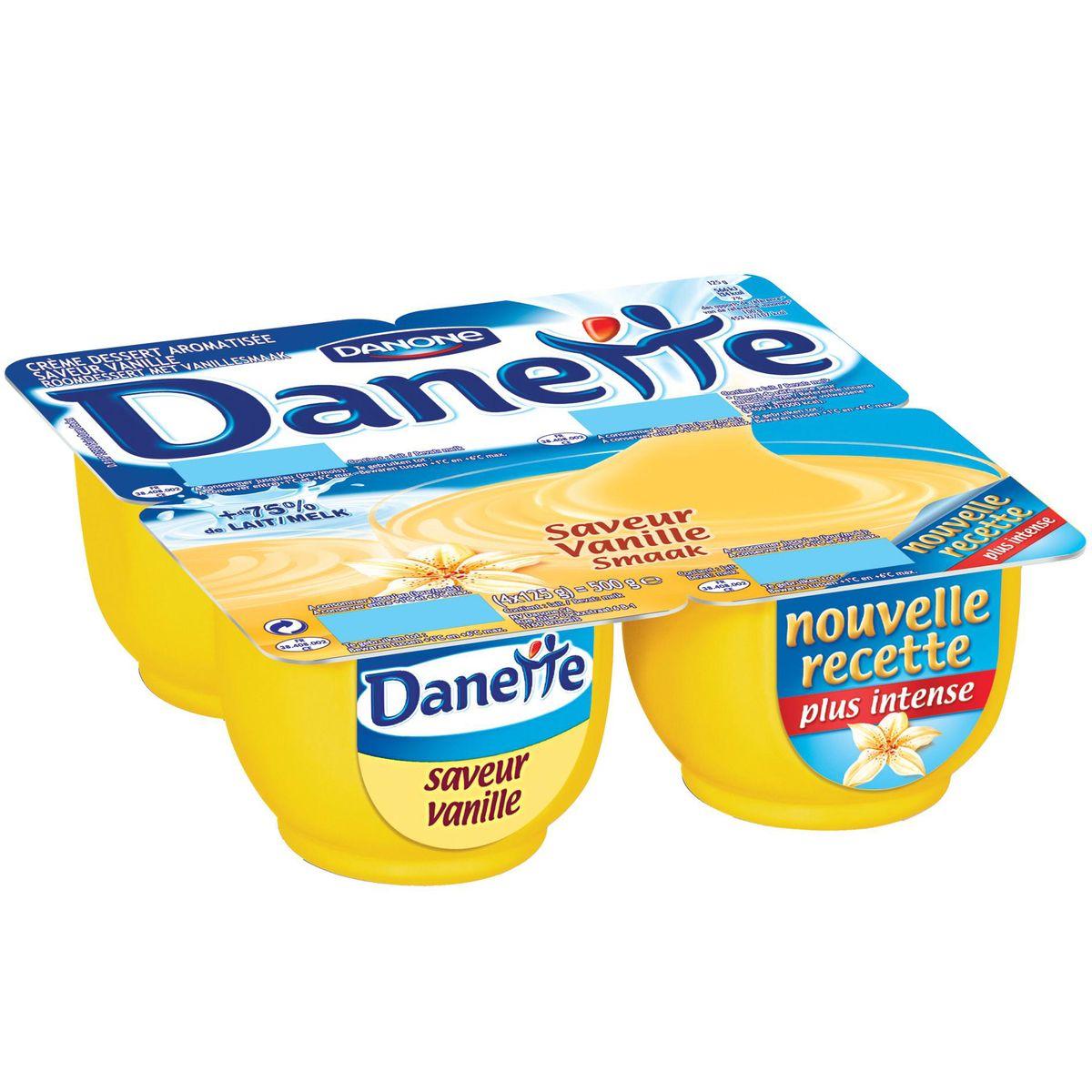 Danette vanille (4 x 125 g)