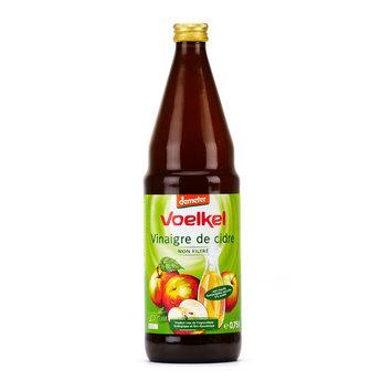 Vinaigre de cidre BIO, Voelkel (75 cl)