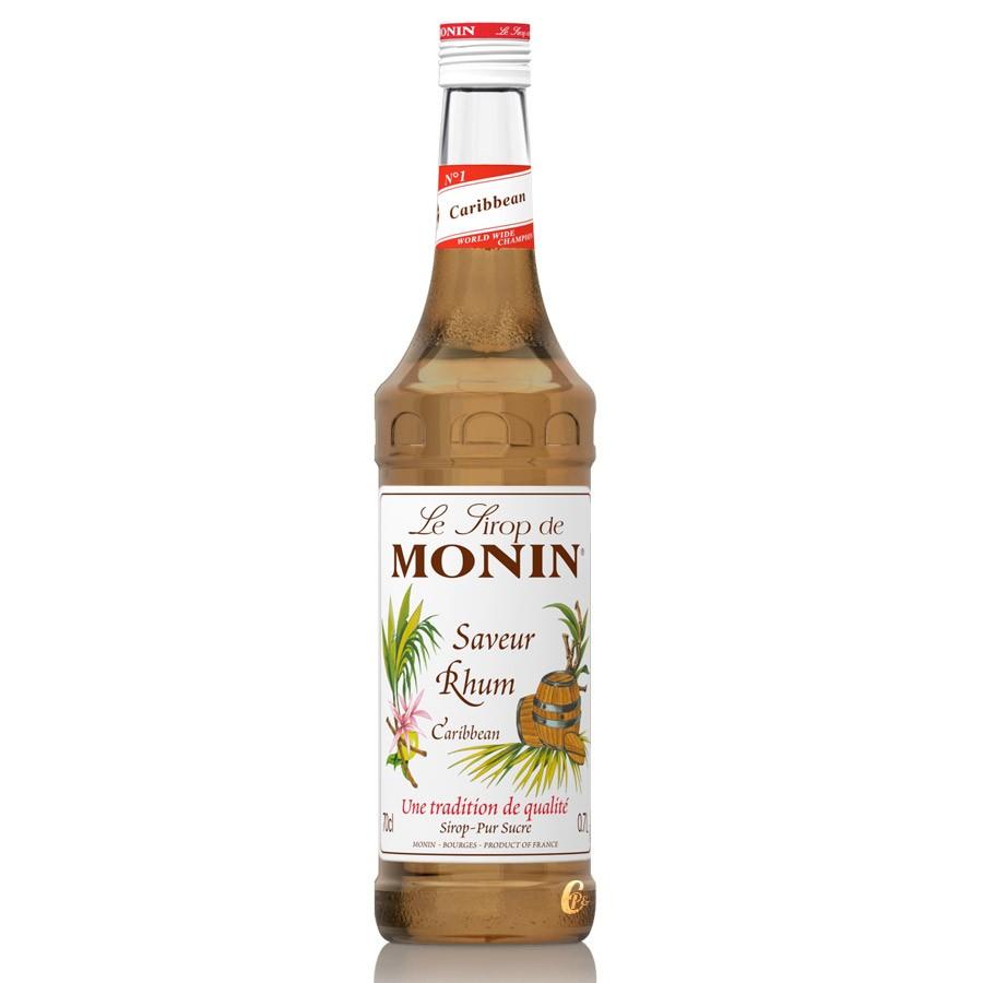 Sirop saveur rhum Monin (70 cl)