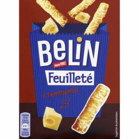 Crackers feuilleté emmental, Belin (85 g)