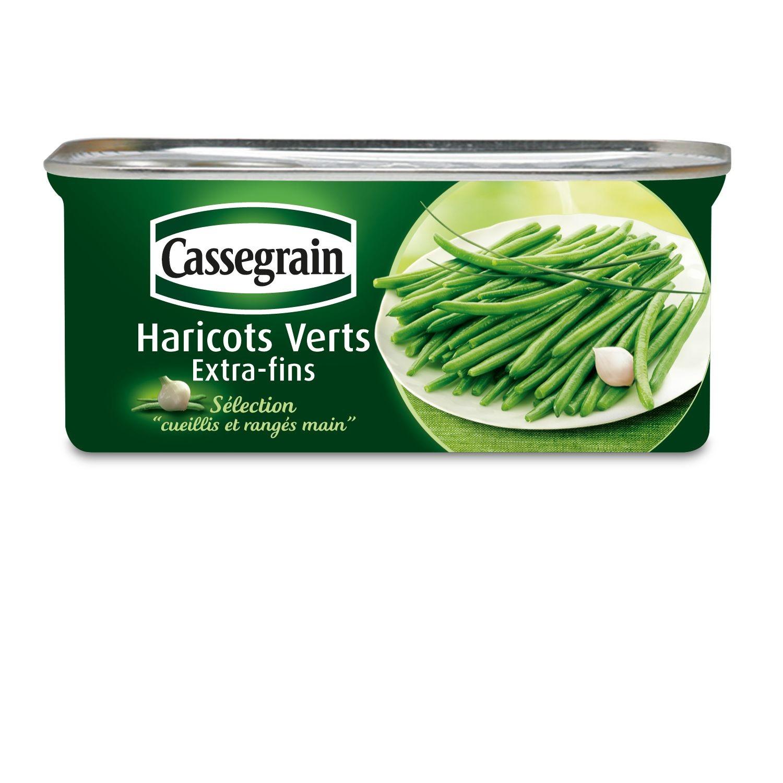 Haricots verts extra fins, Cassegrain (110 g)