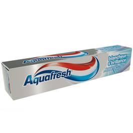 Dentifrice blancheur et brillance, Aquafresh (75 ml)