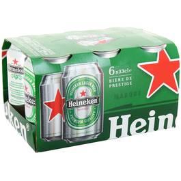 Pack de Heineken (6 x 33 cl)