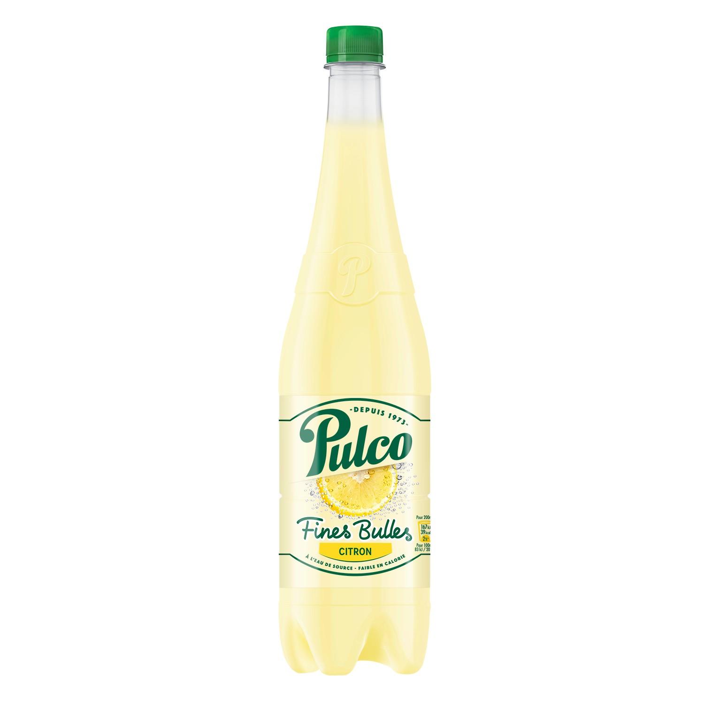 Pulco fines bulles citron (1 L)