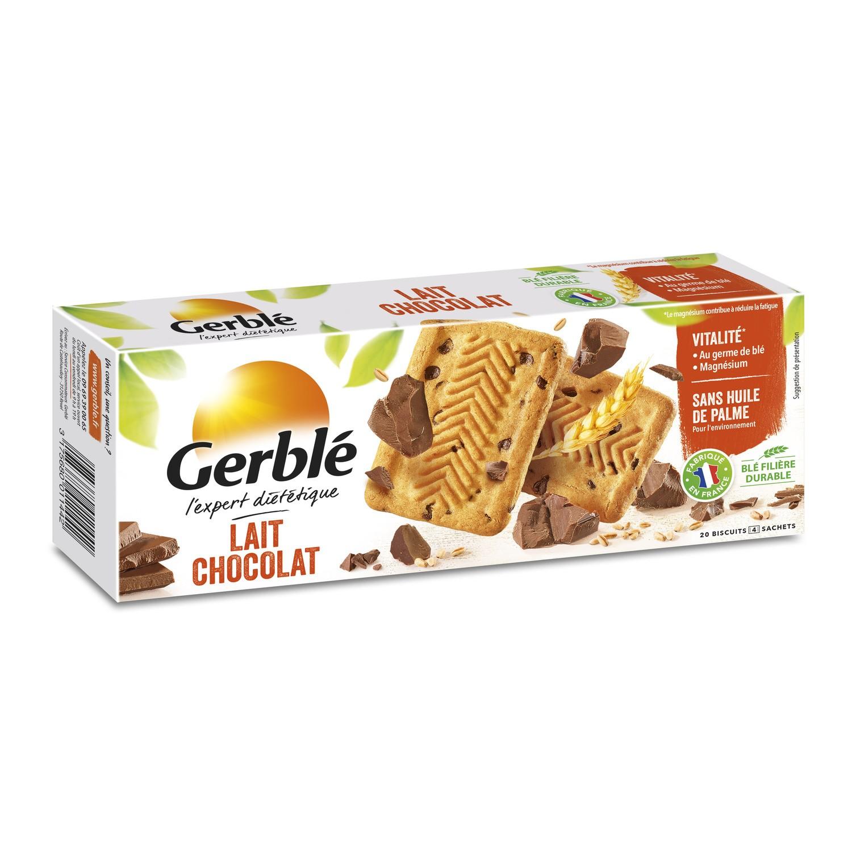 Biscuits lait chocolat, Gerblé (230 g)