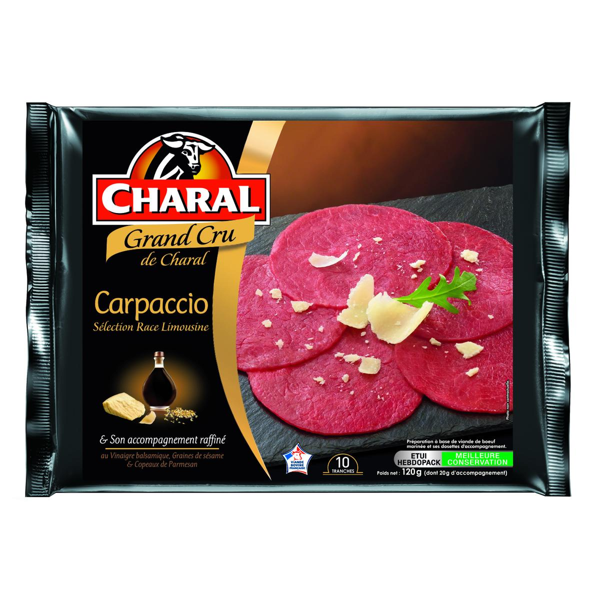 Carpaccio Grand Cru, Charal (120 g)