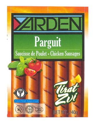 Saucisses parguit, Yarden (320 g)