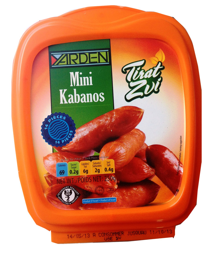 Mini kabanos, Yarden (250 g)
