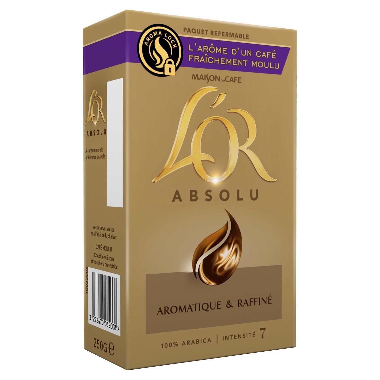 Café moulu aroma l'Or absolu, Maison du Café (2 x 250 g)